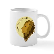Justice for Cecil Mug