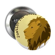 """Justice for Cecil 2.25"""" Button (10 pack)"""
