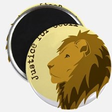 """Justice for Cecil 2.25"""" Magnet (100 pack)"""
