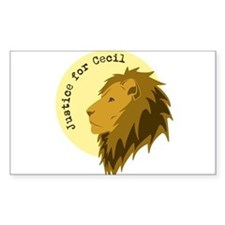 Justice for Cecil Decal