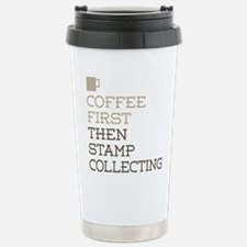 Coffee Then Stamp Colle Travel Mug