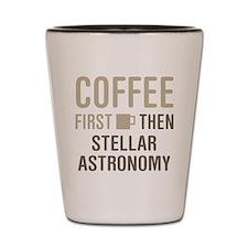 Stellar Astronomy Shot Glass