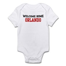 Welcome home ORLANDO Infant Bodysuit