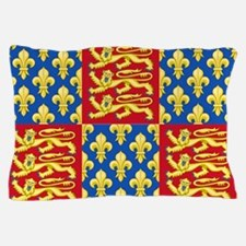 Royal Arms of England and France Pillow Case