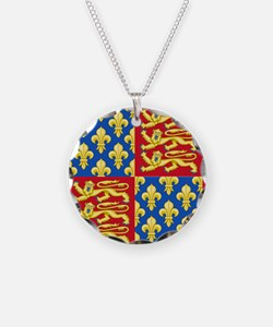 Royal Arms of England and Fr Necklace