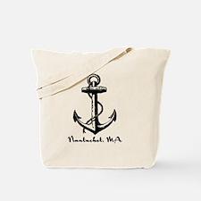 Nantucket, MA Anchor Tote Bag