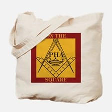 PHA on the square. Tote Bag