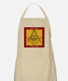 PHA on the square. Apron