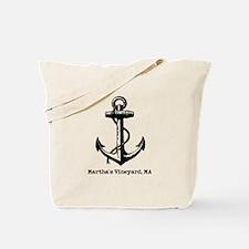 Martha's Vineyard, Ma Anchor Tote Bag