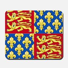 Royal Arms of England and France Mousepad