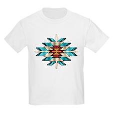 Native Style Beadwork Sunburst T-Shirt