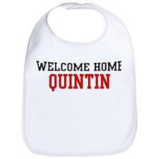 Welcome home QUINTIN Bib