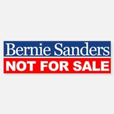 Bernie Not For Sale Bumper Bumper Bumper Sticker