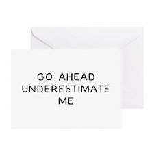 Go Ahead Greeting Card