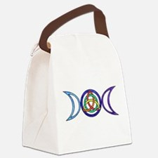 Cute Wiccan Canvas Lunch Bag