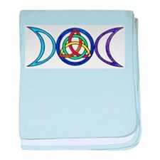 Cute Triquetra baby blanket