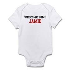 Welcome home JAMIE Infant Bodysuit
