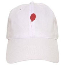 Big Bright Red Balloon Baseball Baseball Cap