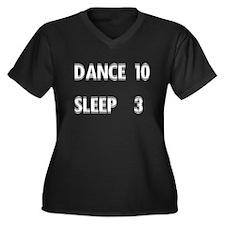 <i>Dance 10 Sleep 3</i> Women's Plus Size V-Neck D