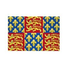 Royal Arms of England and France Magnets