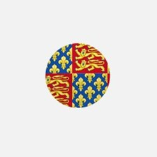 Royal Arms of England and France Mini Button
