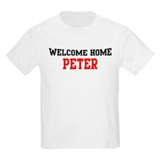 Welcome home PETER T-Shirt