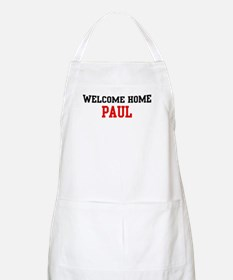 Welcome home PAUL BBQ Apron