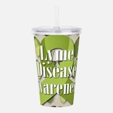 Lyme Disease Awareness Acrylic Double-wall Tumbler