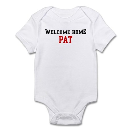 Welcome home PAT Infant Bodysuit