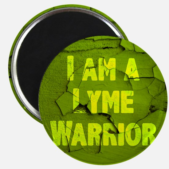 I Am A Lyme Warrior Magnet