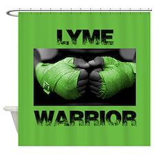 Lyme Warrior Shower Curtain