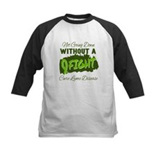 Not Going Down Without A Fight - C Baseball Jersey