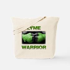 Lyme Warrior Tote Bag