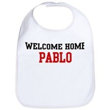 Welcome home PABLO Bib