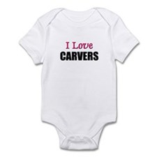 I Love CARVERS Infant Bodysuit