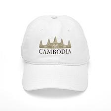 Cambodia Angkor Wat Baseball Cap