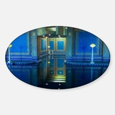 Pool Party Sticker (Oval)