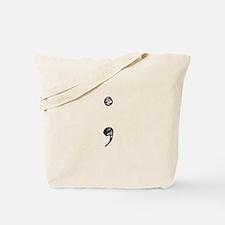 Semicolon Tote Bag