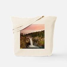 Snoqualme Falls Tote Bag