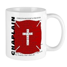 Firefighter Chaplain Mugs