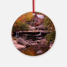 Waterfall Round Ornament