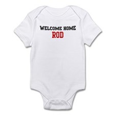 Welcome home ROD Infant Bodysuit