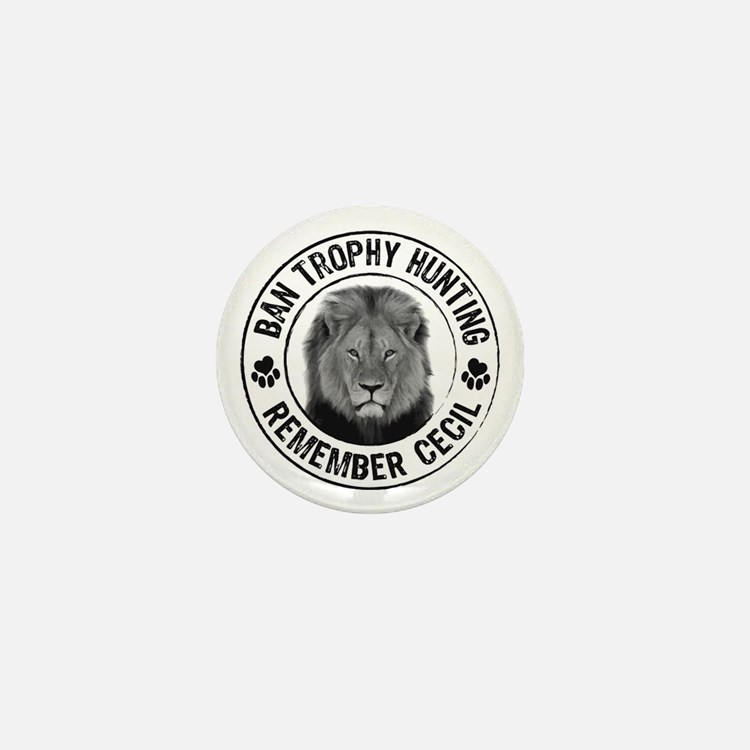 Cute Animals wildlife Mini Button