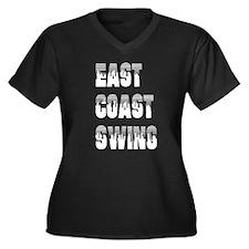 <i>East Coast Swing</i> Women's Plus Size V-Neck D