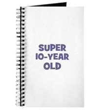 Super 10-Year Old Journal