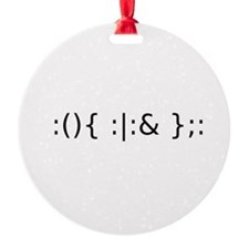 Fork Bomb Ornament