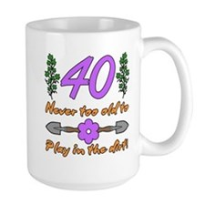 40th Birthday For Gardeners Mug