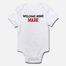 Welcome home MARK Infant Bodysuit