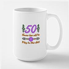 50th Birthday For Gardeners Mug