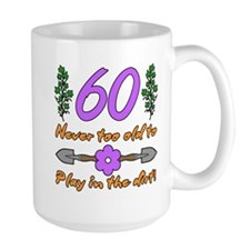 60th Birthday For Gardeners Mug